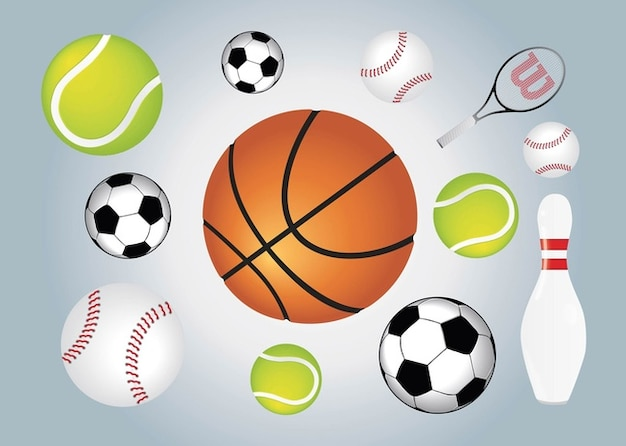 Ball Sports Free Vector