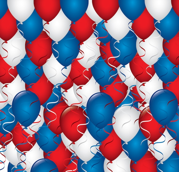 Balloons Premium Vector