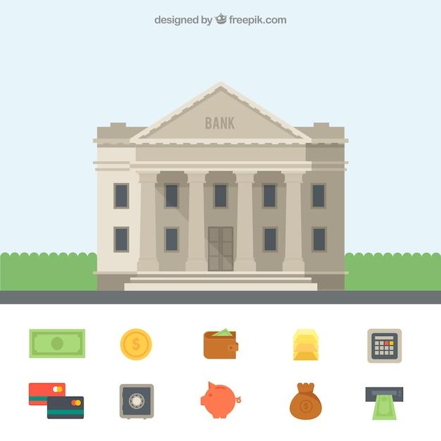 bank building vector free download rh freepik com vector banner vector background