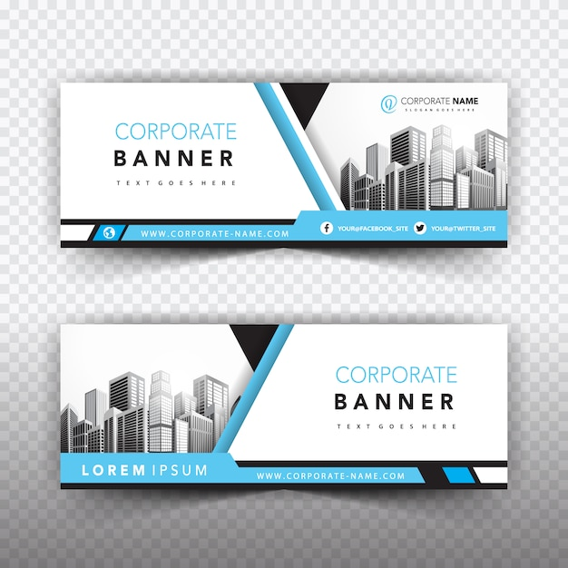 Banner templates collection Vector | Free Download