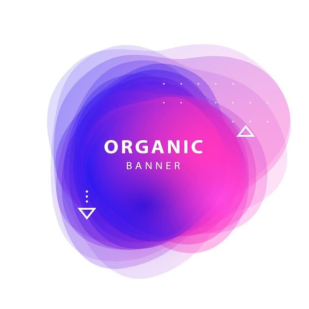 Сиреневый, розовый, синий абстрактный накладные формы фон bannner Бесплатные векторы