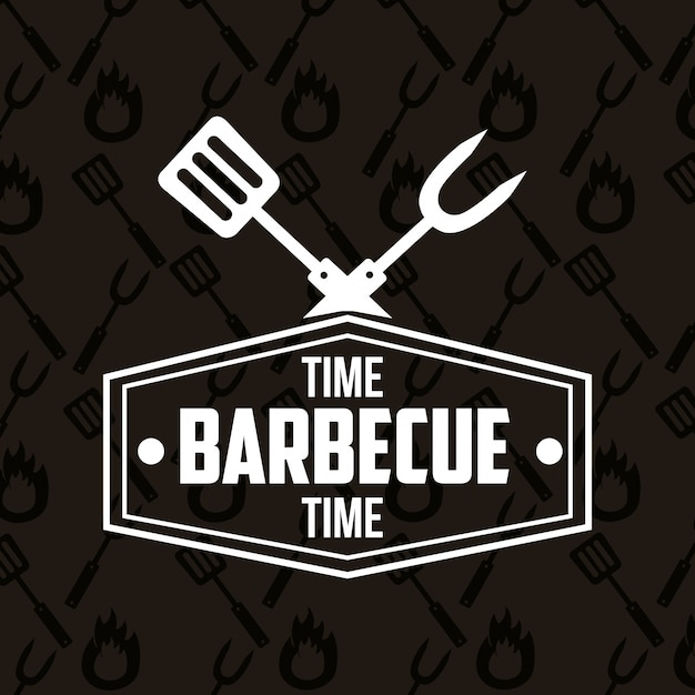 Barbecue grill Free Vector