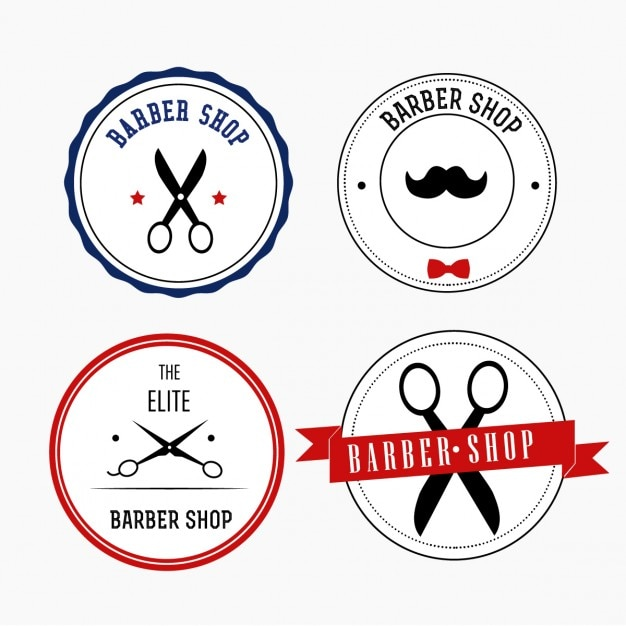 Barber Shop Hours : Hairdresser Logo Vectors, Photos and PSD files Free Download
