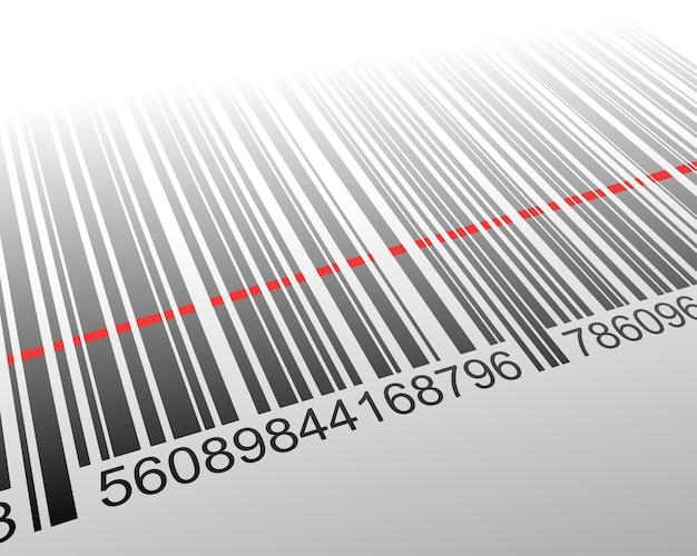 Barcode scanning concept Premium Vector