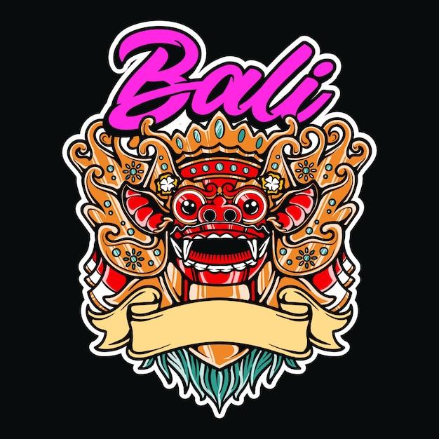 premium vector barong bali traditional mask indonesian culture illustration https www freepik com profile preagreement getstarted 7030374