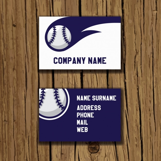 Baseball business card design vector free download baseball business card design free vector colourmoves