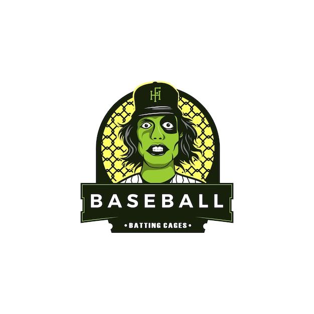 Baseball illustration Premium Vector