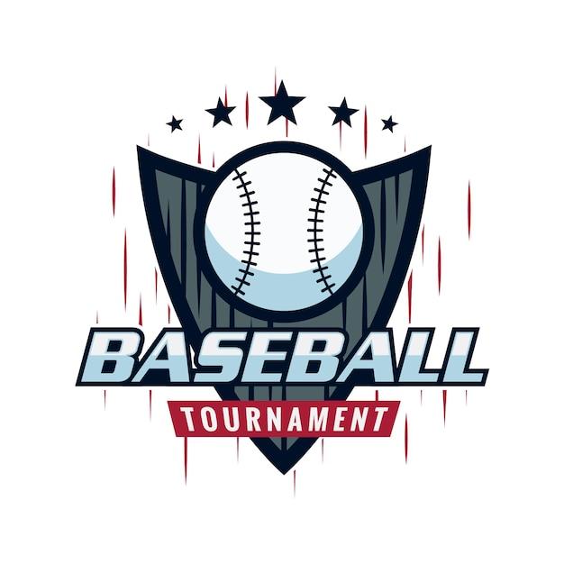 baseball logo design vector premium download rh freepik com basketball logo designs baseball logo design free