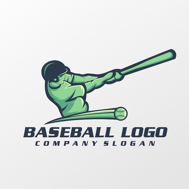 Baseball logo vector, template, illustration Premium Vector