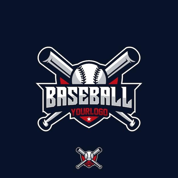 野球スポーツゲームリーグベース Premiumベクター