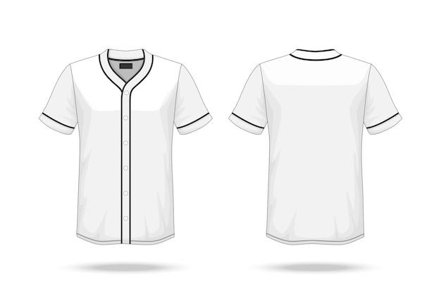 baseball t shirt mockup vector premium download