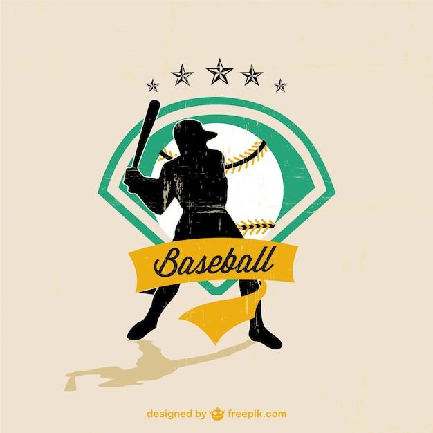 Baseball Vector Player Free Image Vector Free Download