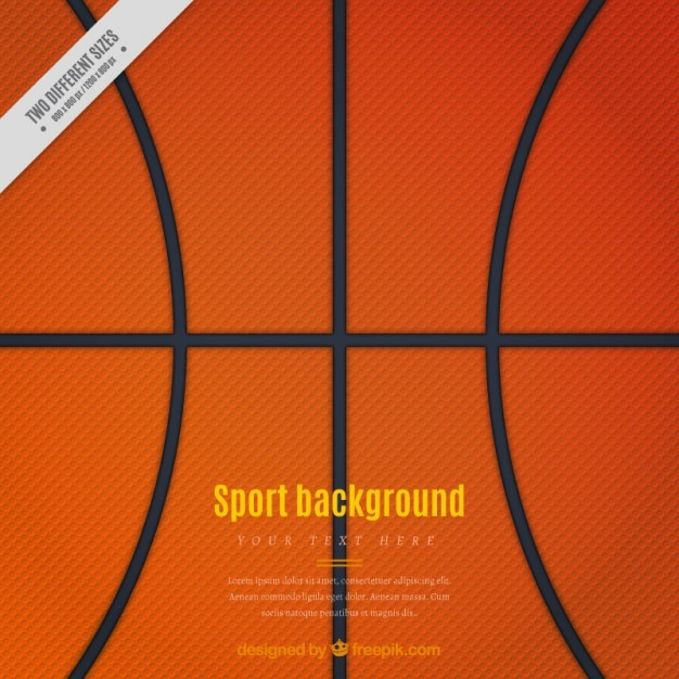 Basketball background Vector Free Download