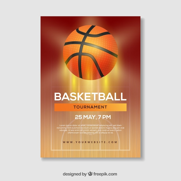 Basketball basketball booklet light