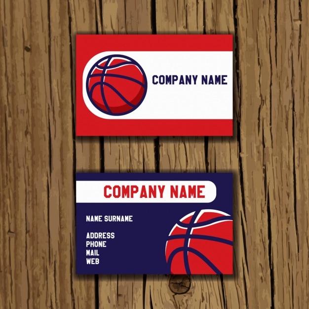 Basketball business card design vector free download basketball business card design free vector colourmoves