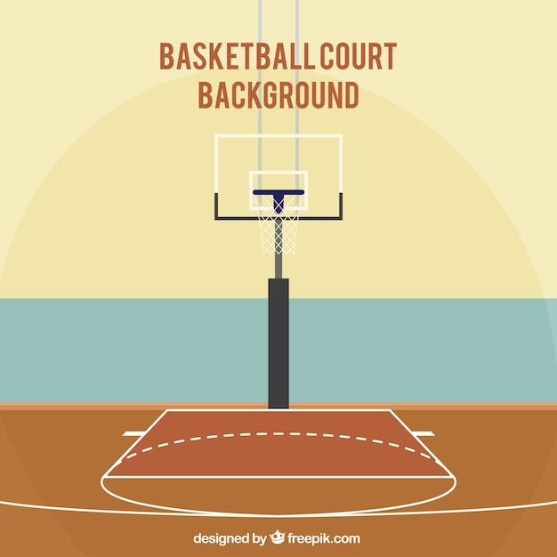 Basketball court background