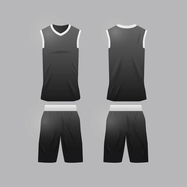 157a0211dac6 Basketball jersey template Premium Vector