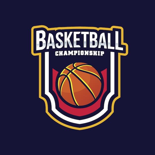 basketball logo design vector free download