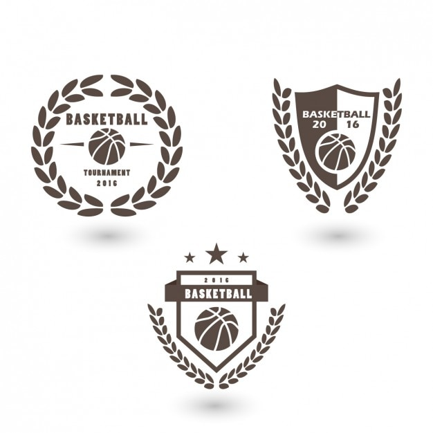 basketball logo template design vector free download. Black Bedroom Furniture Sets. Home Design Ideas