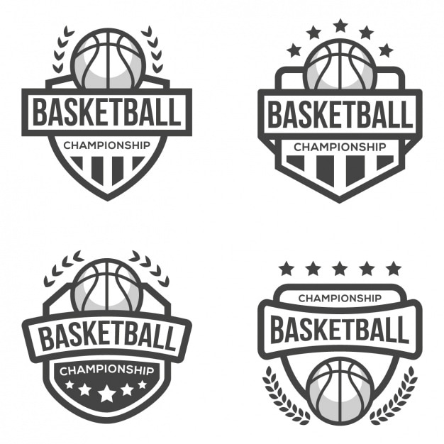 basketball logo template vector free download. Black Bedroom Furniture Sets. Home Design Ideas