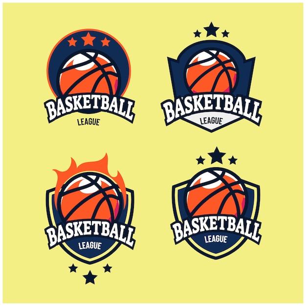 Баскетбол логотип Premium векторы
