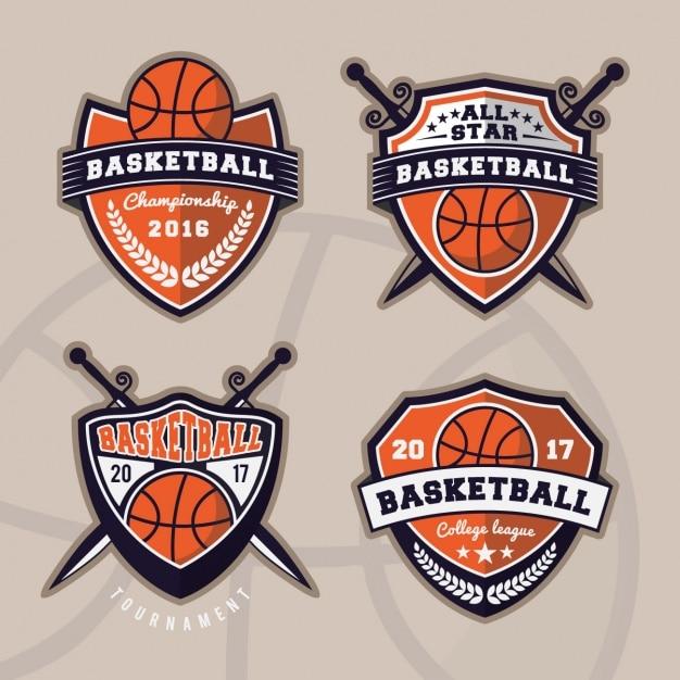 Basketball logos collection Vector | Free Download Basketball Logos Free