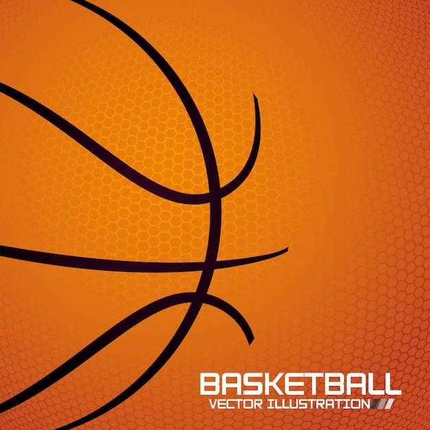 Basketball sport Premium Vector
