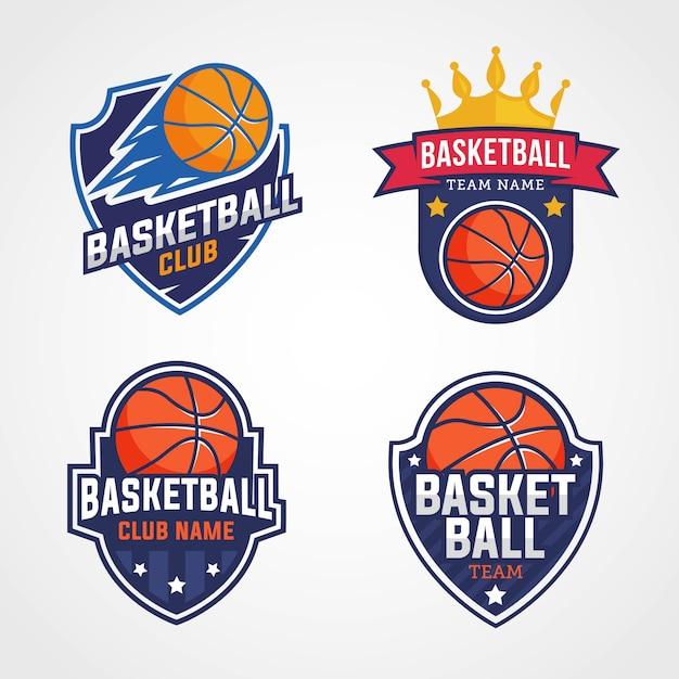 Basketball team logos Vector | Premium Download
