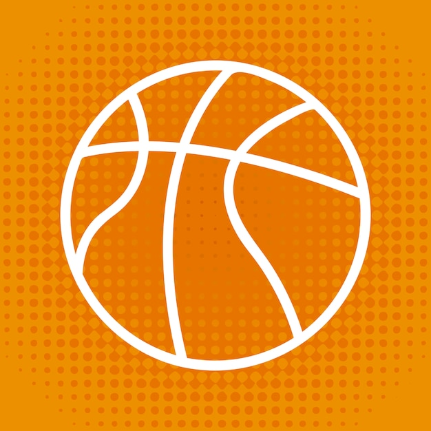 Basketball Premium Vector