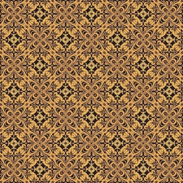 Batik pattern Premium Vector