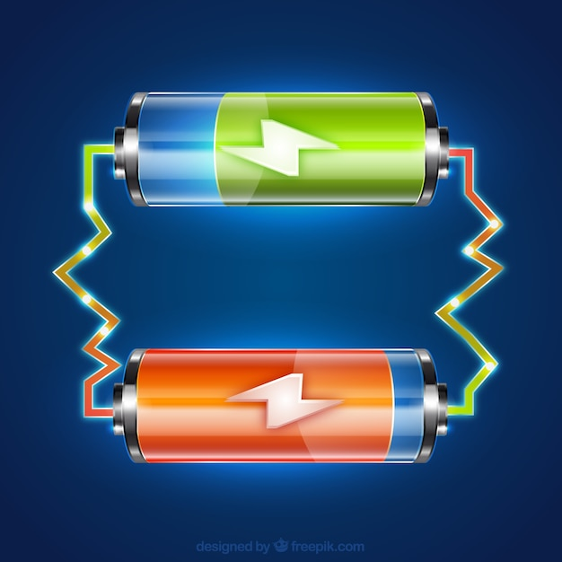Batteries Free Vector