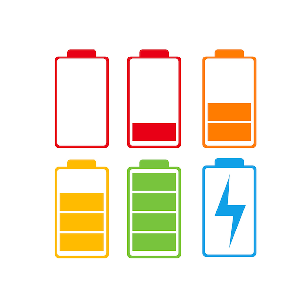 battery charge vector premium download
