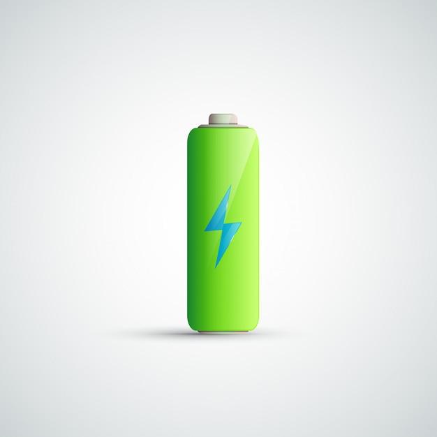 Battery icon illustration Premium Vector
