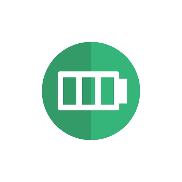 Battery icon Free Vector