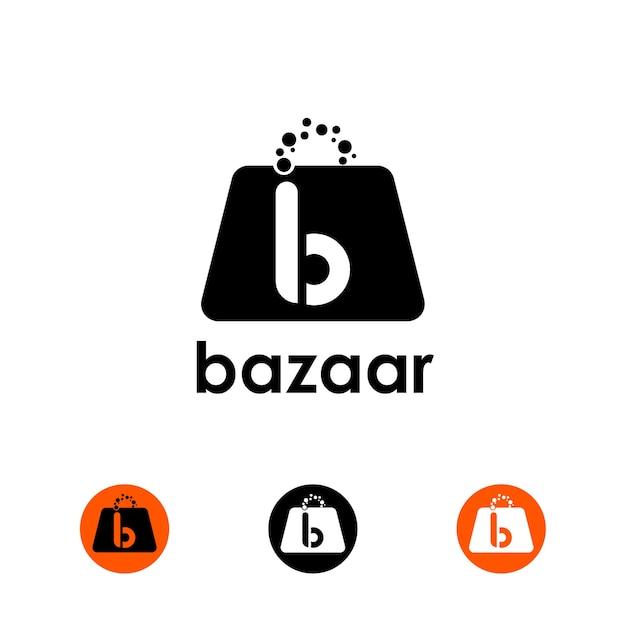 Bazaar logo Vector | Premium Download