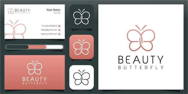 抽象的な蝶の要素を持つ頭文字bb。ミニマリストラインアートモノグラム形状ロゴ。二重文字のタイポグラフィ装飾アイコンb。大文字のイニシャル。美容、高級スパスタイル。 Premiumベクター