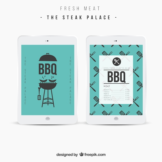 bbq menu template vector free download. Black Bedroom Furniture Sets. Home Design Ideas