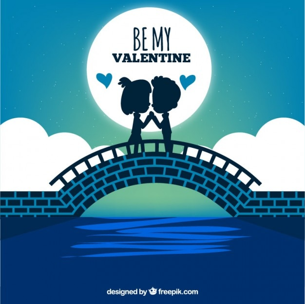 be my valentine illustration vector free download