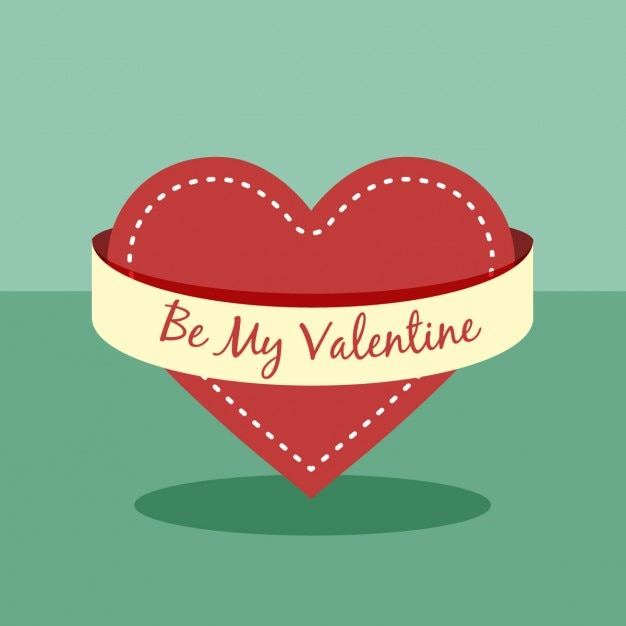 Be my valentine love background