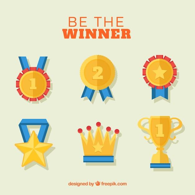 Be the winner Vector | Free Do...