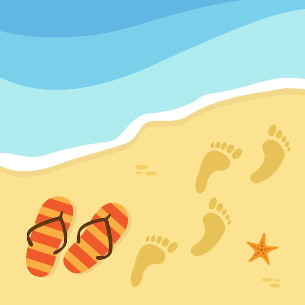 Beach background design vector free download for Beach design