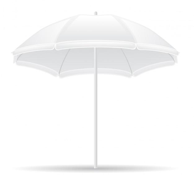 Beach umbrella Premium Vector