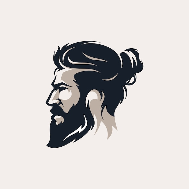 premium vector beard man barber shop logo vector illustration https www freepik com profile preagreement getstarted 6408159