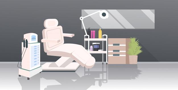 Косметичка с лазерной эпиляцией и креслом Premium векторы