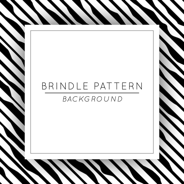 Beautiful abstract brindle pattern background square banner Premium Vector