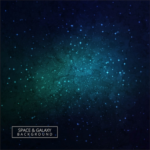 Beautiful Background Of The Night Sky With Stars Dark Galaxy Premium Vector
