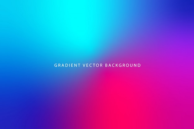 Beautiful blurry gradient background Premium Vector