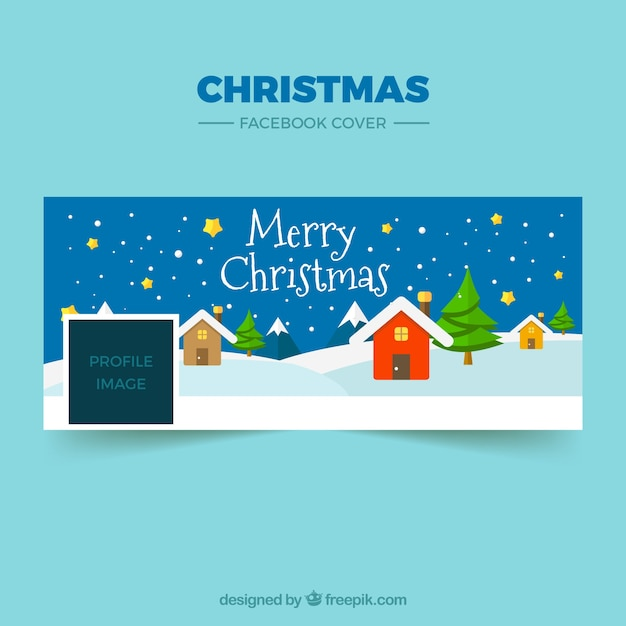 Beautiful christmas facebook cover | Stock Images Page | Everypixel