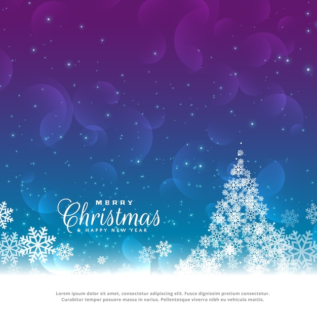 Christmas Card Background.Beautiful Christmas Greeting Card Design Background Vector