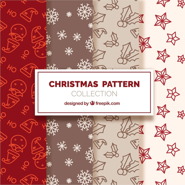 Beautiful collection of christmas patterns